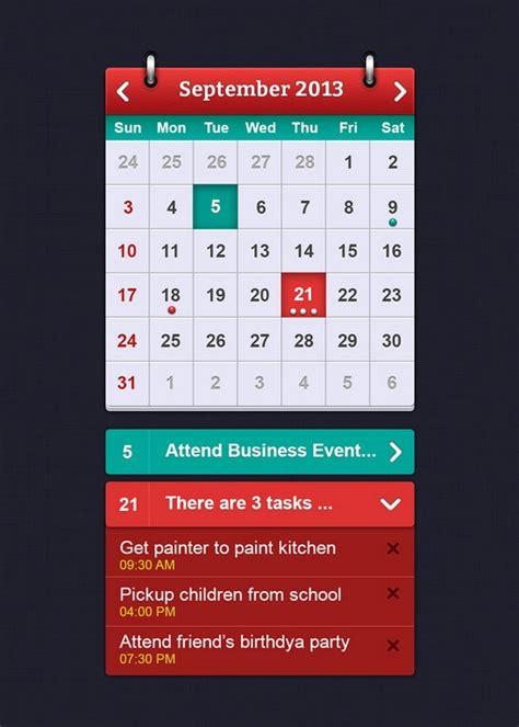 2014 calendar psd template download 40 best free calendar templates psd css3 wallpapers