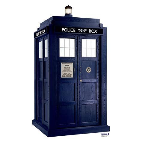 tardis box doctor who tardis phone box size stand up cardboard