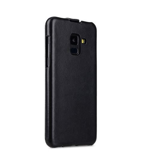 Casing Samsung A8 premium leather for samsung galaxy a8 plus 2018 jacka type