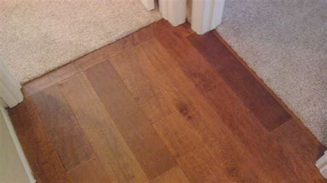 Hardwood Flooring Threshold Transition Seal
