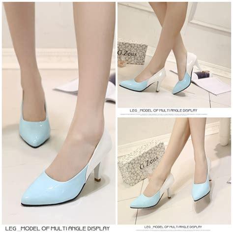 Sepatu Boots Wanita Pichboy Blue jual shh3320 blue sepatu heels pesta wanita 8cm
