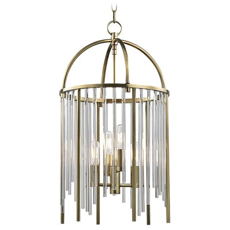 lewis lights pendant lewis 4 light pendant light aged brass 2512 agb destination lighting