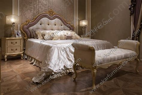 bed in arabic new designs arabic furniture dubai wooden bed stool fu 105
