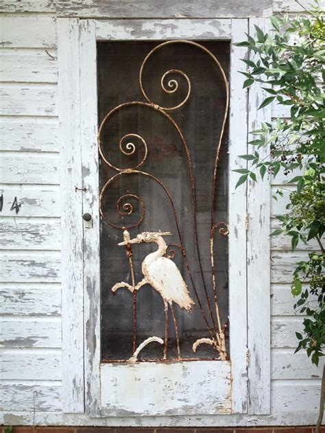 Vintage Screen Door by Gabe And Amanda Rescue And Restore A Beautiful Vintage
