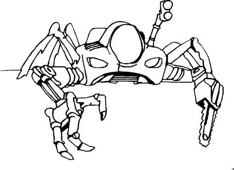 gratis ausmalbilder roboter malvorlagentvcom