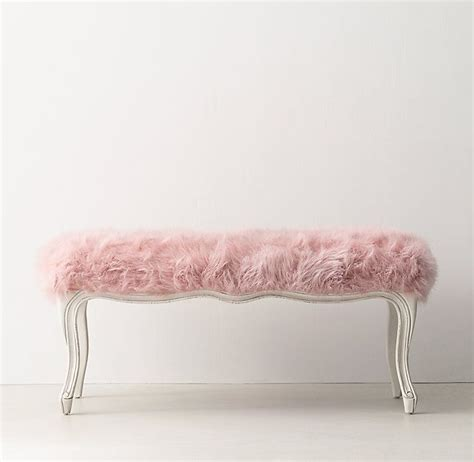 faux fur bench uk 1000 images about bedroom makeover on