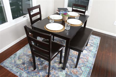 Espresso Kitchen Table Set by 5 Kitchen Dining Table Set 1 Table 3 Leather