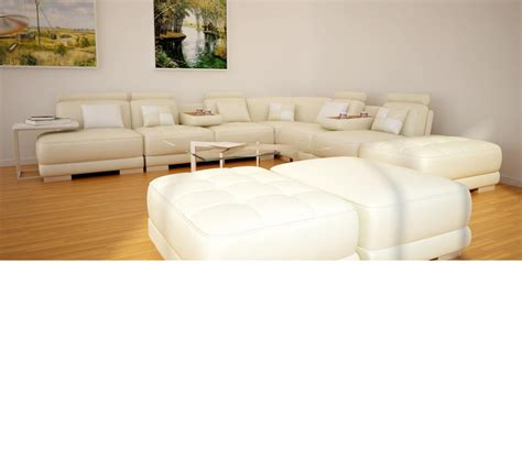 bonded leather sectional sofa dreamfurniture com 5004 modern bonded leather