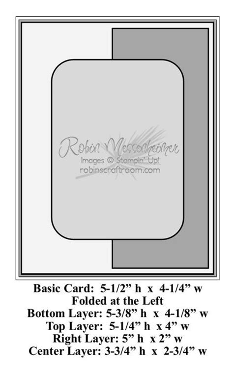 Sketch Card Template by Template By Robin Messenheimer Templates Cards