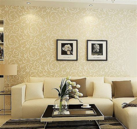 gold wallpaper living room silver living room walls images