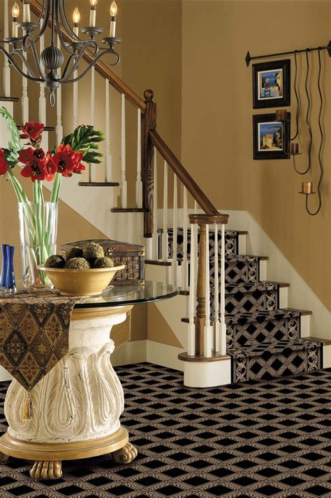 kitchen carpeting ideas carpeting on the stairs makes for a quieter home