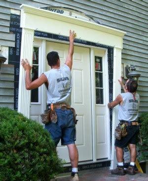 Exterior Door Casing Kit by Repairing A Rotten Door Entry Thisiscarpentry