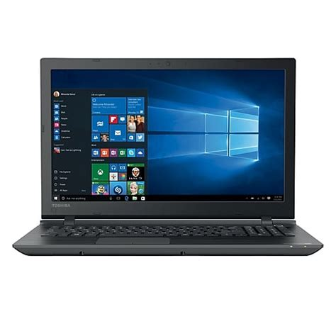toshiba c55 c5379 15 6 quot laptop widescreen trubrite 174 tft display intel 174 i3 5005u