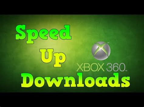 download youtube xbox 360 how to make your xbox 360 download speed faster youtube