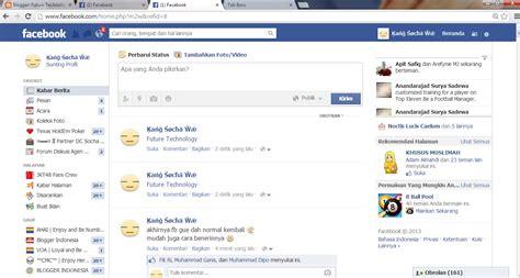 fb jadul cara pasang tilan fb facebook menjadi baru dan keren