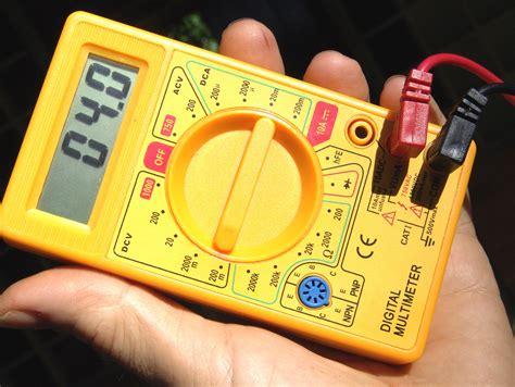 Appareil De Mesure Electrique 2344 by Choisir Multim 232 Tre Tous Les Conseils Pour L Achat D
