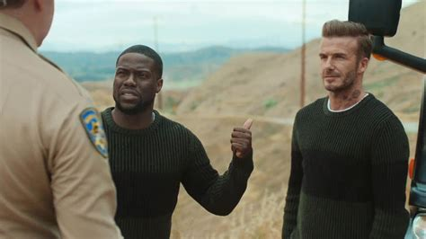Could Kevin Reunite by David Beckham And Comedian Kevin Hart Reunite For Their H
