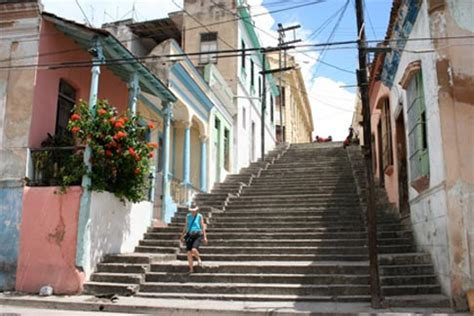famous stairs photos of cuba