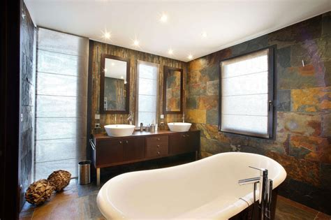 contemporary bathroom tjihome luxurius rustic modern bathroom hd9c14 tjihome