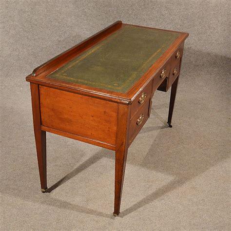 antique leather top desk antique desk study library leather top fine
