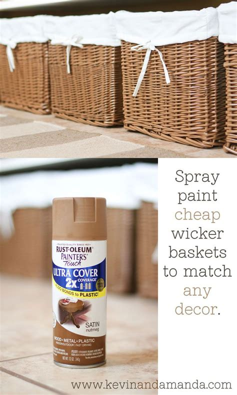 25 best ideas about spray paint wicker on spray painted baskets thrift store finds