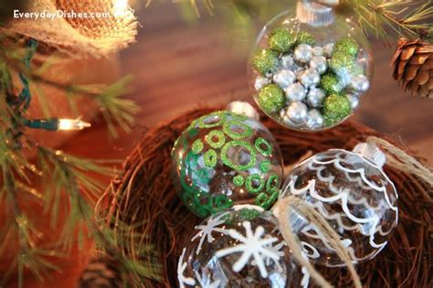 decorated ornaments diy decorated glass ornaments