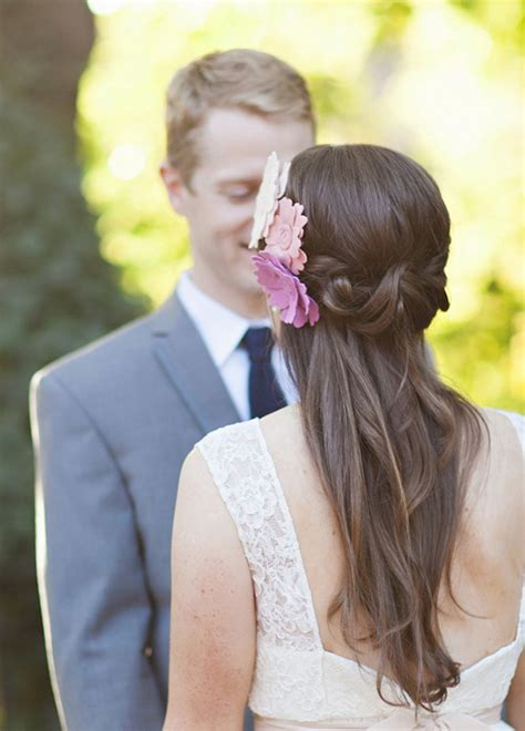 Vintage Wedding Hair Half Up by Wedding Hairstyles Half Up Half Tulle