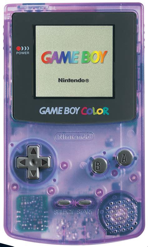 gameboy color purple boy color clear purple consolas y juegos