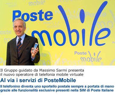 poste mobili credito residuo postemobile promozioni sui servizi quot semplifica quot io chiamo