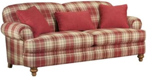 Just Love This Couch Not So Crazy About The Plaid But Plaid Living Room Furniture