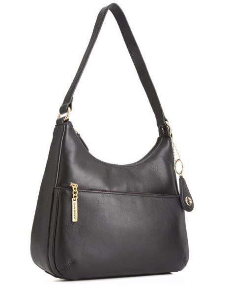 Donini Bag Nappa Leather giani bernini nappa leather hobo bag in black lyst