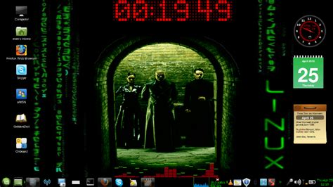 themes for mate desktop environment download matrix mate theme linux