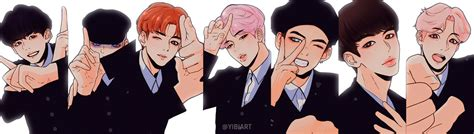 bts not today inkigayo by yibiart on deviantart