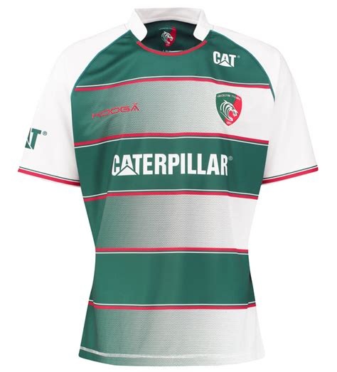 design jersey canterbury leicester tigers kooga 2015 16 home shirt rugby shirt watch