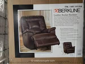 berkline leather recliner