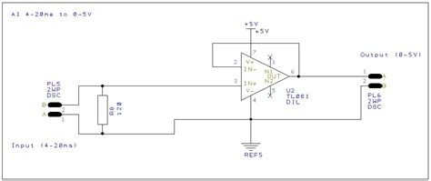 calculate resistor for 4 20ma 28 images gt digital gt a circuit diagram of the digital