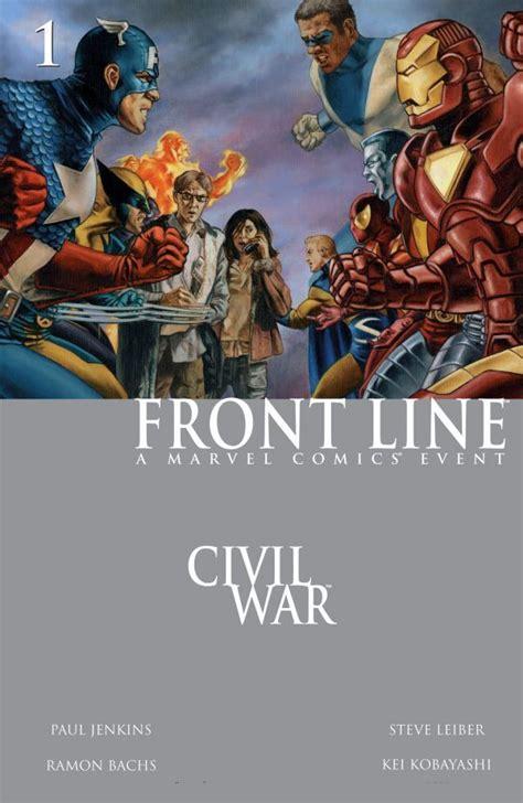 Dc Marvel Civil War Banner Heroes Lined Up Fanmade By Mrvideo Vidman On Deviantart Civil War Front Line Vol 1 1 Marvel Comics Database
