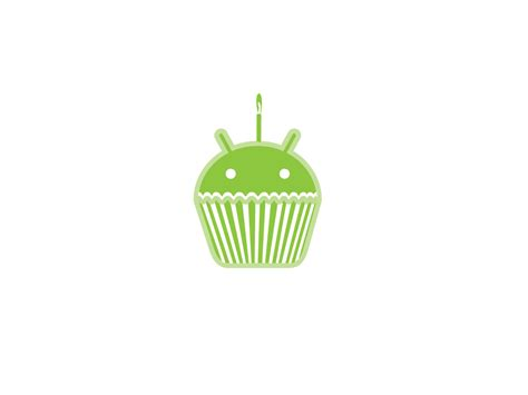 android cupcake android cupcake nerdy