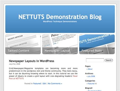 wordpress tutorial nettuts best of wordpress tutorials more than 100 recourses