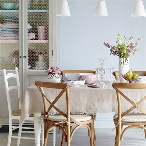 esszimmer vintage pastels and wood dining room dining room decorating