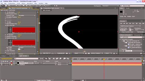 tutorial after effects trapcode light streaks after effects tutorial trapcode particular