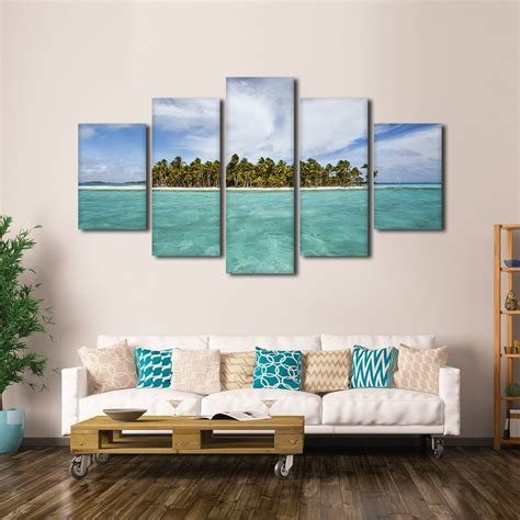 bahama wall decor bahamas island multi panel canvas wall elephantstock