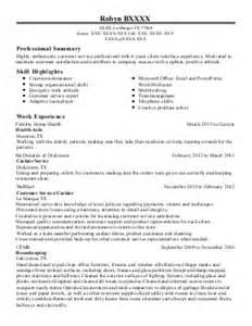 Resume Help Auburn Customer Service Resume Exle Premera Blue Cross Auburn Washington