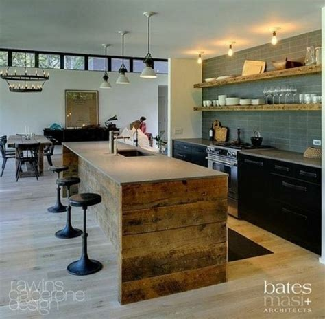 awesome reclaimed wood kitchen islands home decor color