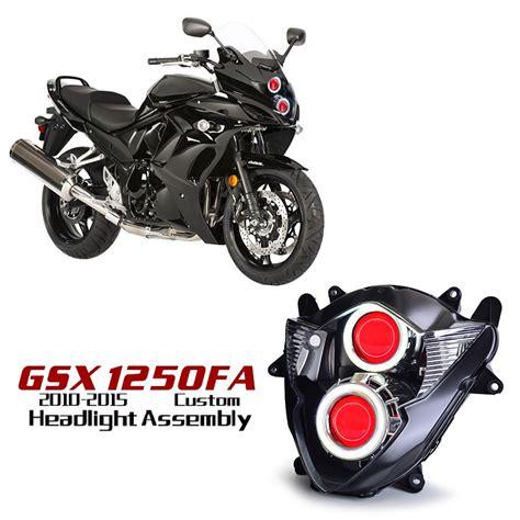 Led Rücklicht Suzuki Gsx 1250 Fa suzuki gsx1250fa eye hid led projector headlight