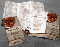 desain brosur restaurant contoh desain menu flyer restoran cafe dan rumah makan