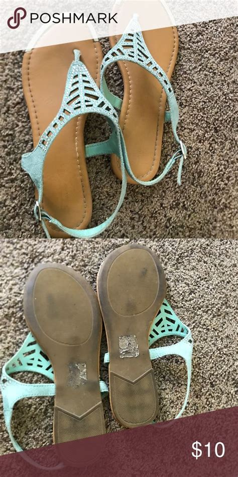 mint colored sandals 66 best images on