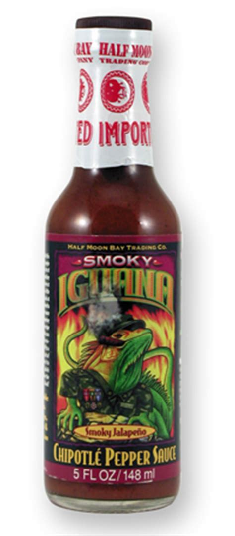 Chipotle Virtual Gift Card - iguana smoky chipotle pepper hot sauce