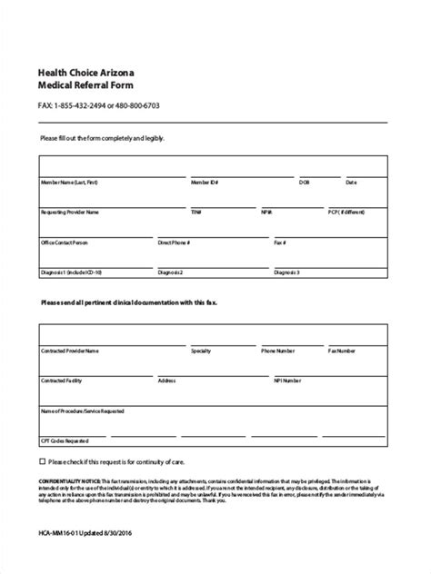 medical referral form template images templates design ideas