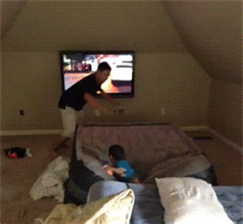 futon gif bed fail gif find on giphy